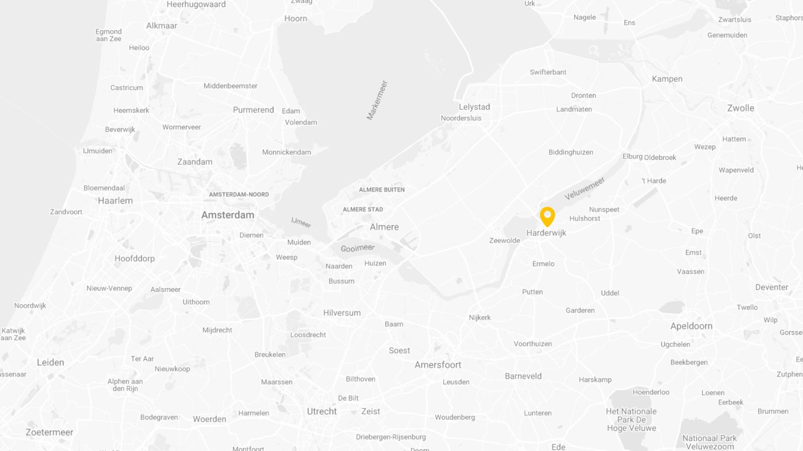 Locatie van Goudzaken