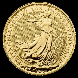 Gouden Britannia munt 2021 kopen