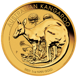 Gouden Kangaroo munt 2021 kopen