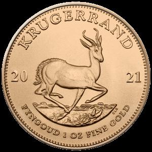 Gouden Krugerrand munt 2021 kopen