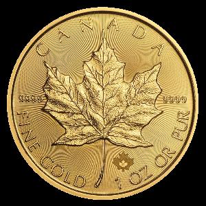 Gouden Maple Leaf munt 2021 kopen