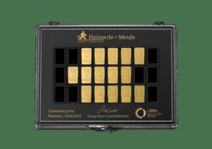 Heimerle & Meule goudbaar 15 gram