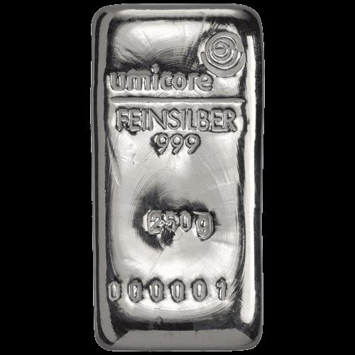 Umicore zilverbaar 250 gram kopen