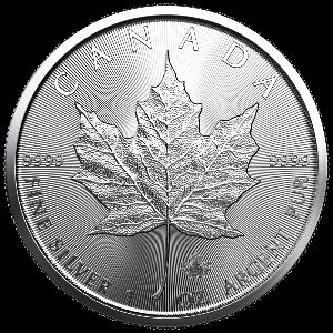 Zilveren Maple Leaf munt 2021 kopen