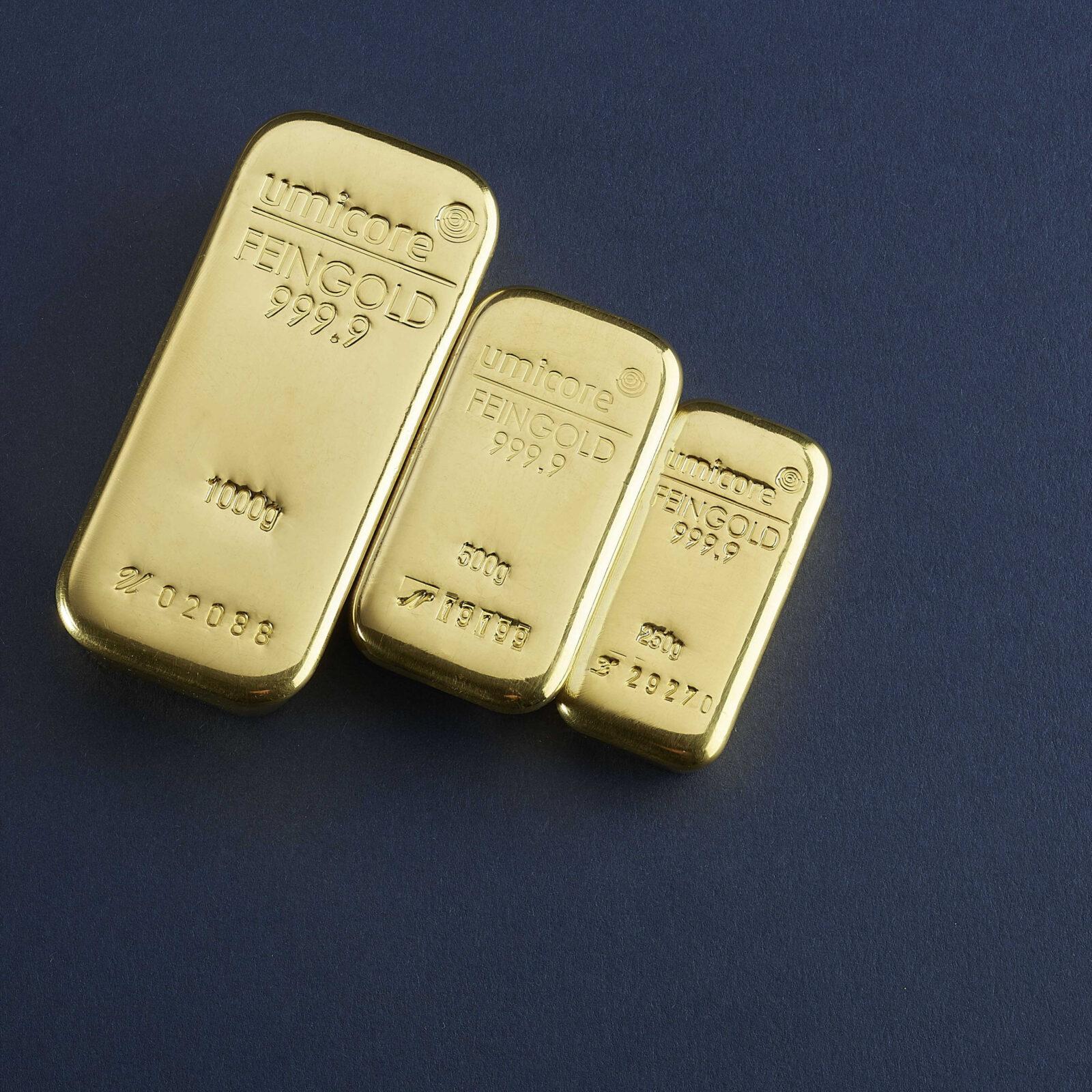 Umicore goudbaren