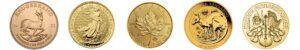 Goud kopen munten