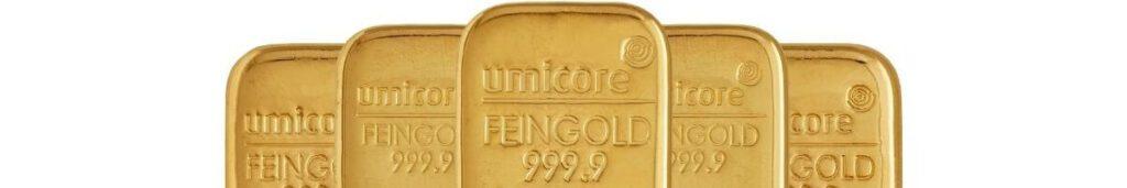 Umicore goudbaren kopen
