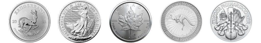 Zilveren munten kopen bij Goudzaken